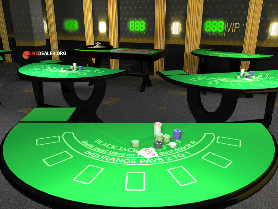 888 live casino not working