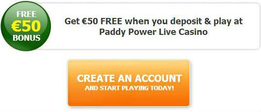Casino bonus paddy power withdrawal