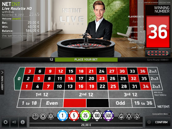 live casino malta