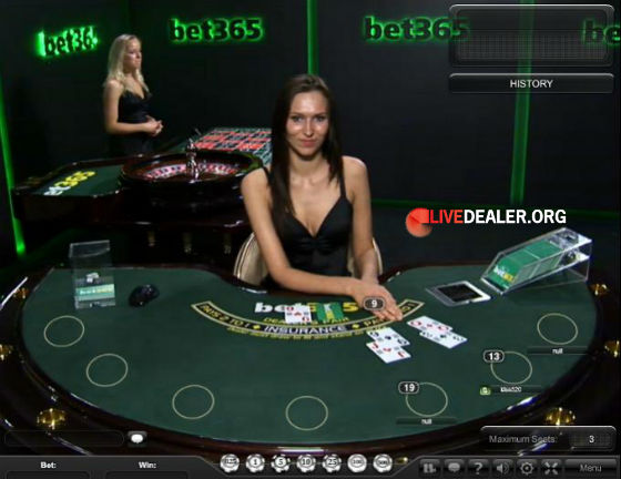 blackjack in bet365's dedicated room