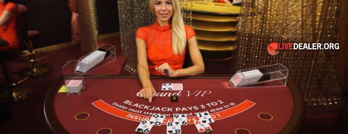Evolution Grand VIP blackjack