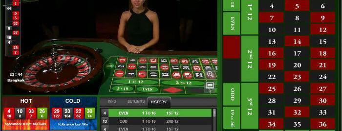 HoGaming live roulette