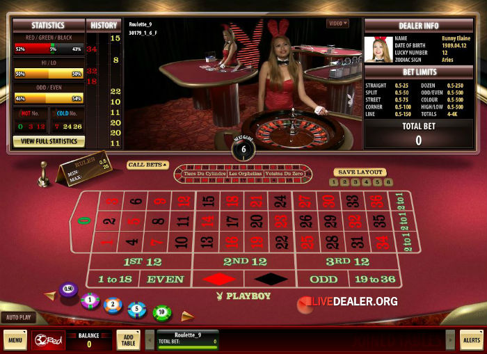 roulette gambling game