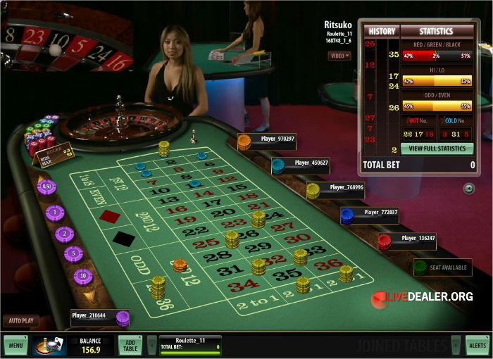 Microgaming live roulette
