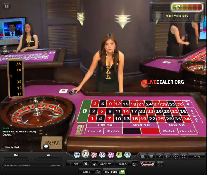 free european roulette playtech