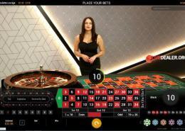 Playtech live European Roulette