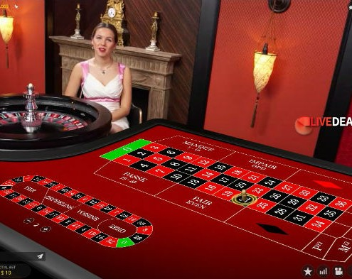 Evolution Gaming French VIP Roulette