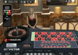 Victor's live roulette