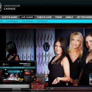 Grosvenor'snew live casino