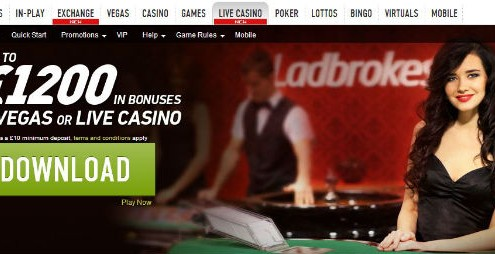 Ladbbrokes new live casino