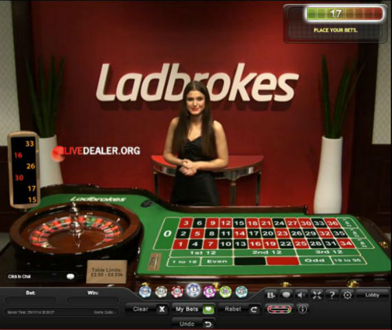 ladbrokes casino european roulette
