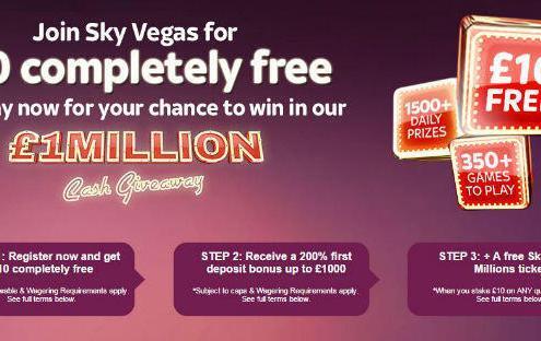 Sky Vegas Millions