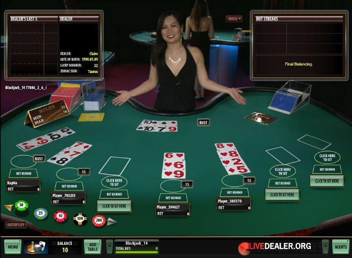 Blackjack names