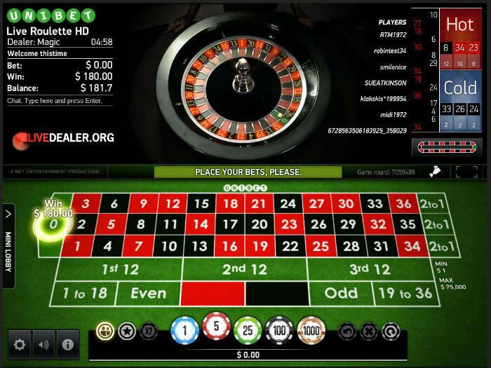 Infinity pelaamista kasinova