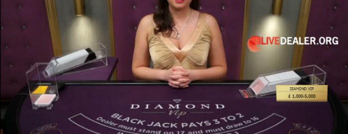 Diamond VIP blackjack
