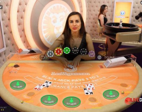 Leo Vegas live blackjack