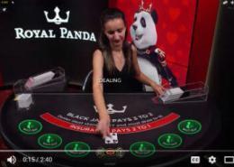 playing Royal Panda