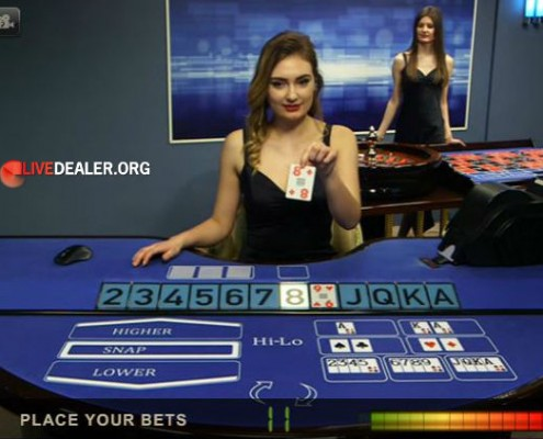 Live dealer Dorisa