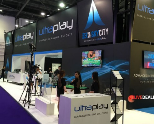 Ultra Play stand at ICE