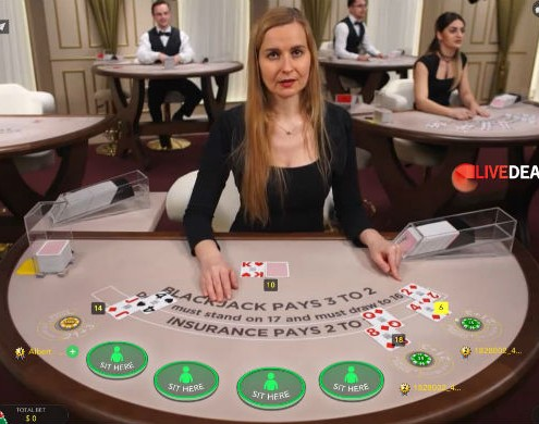 Evolution Romania studio blackjack