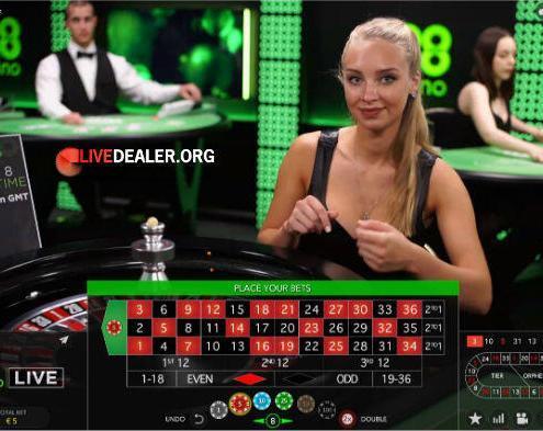 Live dealer Signe