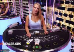 888 Elite Lounge blackjack