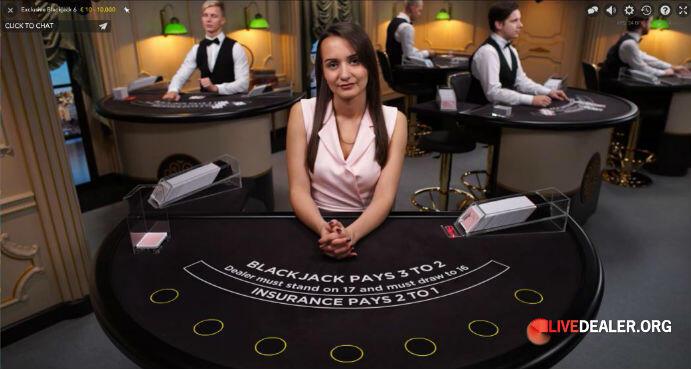 Betsson private live blackjack