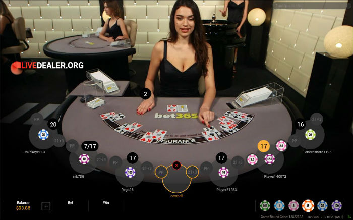Bet365 blackjack minimum bet